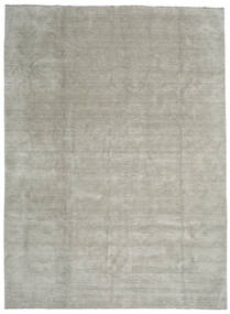 Handloom fringes - Grey / Light Green rug CVD13988