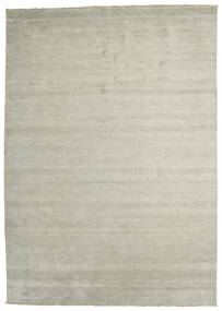 Handloom Fringes - Grey/Light Green Rug 250X350 Modern Light Grey/Light Brown Large (Wool, India)