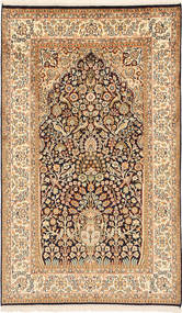 カシミール ピュア シルク 絨毯 MSA343