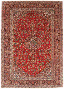 Keshan Patina Alfombra 266X383 Oriental Hecha A Mano Rojo Oscuro/Marrón Grande (Lana, Persia/Irán)
