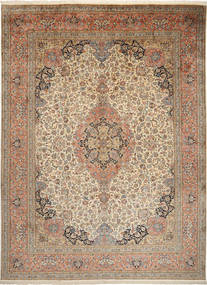 Kashmir pure silk carpet MSA7