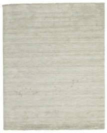 Handloom fringes - Grey / Light Green rug CVD13999