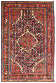 Ardebil Patina Rug 193X298 Authentic  Oriental Handknotted Dark Red/Dark Brown (Wool, Persia/Iran)