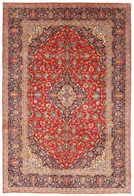 Keshan Matto 243X351 Itämainen Käsinsolmittu Ruoste/Tummanpunainen (Villa, Persia/Iran)