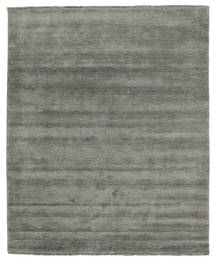 Handloom Fringes - Dark Grey Rug 200X250 Modern Dark Grey (Wool, India)