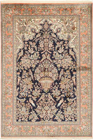 Kashmir pure silk carpet MSA281