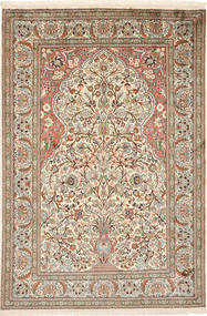 Kashmir pure silk carpet MSA278