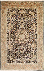 Kashmir pure silk carpet MSA86
