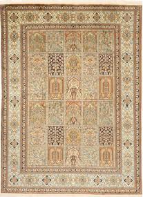 Kashmir pure silke tæppe MSA140
