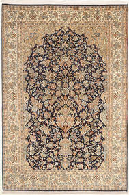 Kashmir pure silk carpet MSA233