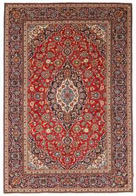 Keshan Patina Matto 243X360 Itämainen Käsinsolmittu Ruskea/Tummansininen (Villa, Persia/Iran)