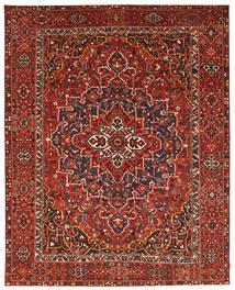 Bakhtiar Patina Matta 337X431 Äkta Orientalisk Handknuten Mörkröd/Svart Stor (Ull, Persien/Iran)