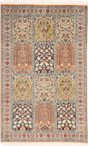 Kashmir pure silk carpet MSA430