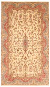 Kerman Rug 300X538 Authentic  Oriental Handknotted Dark Beige/Light Brown Large (Wool, Persia/Iran)