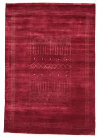 Gabbeh Loribaft Rug 152X223 Authentic  Modern Handknotted Crimson Red/Dark Red (Wool, India)