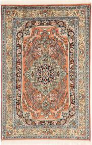 Kashmir pure silk carpet MSA524