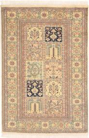 Kashmir puur zijde tapijt MSA396