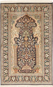 Kashmir pure silk carpet MSA401