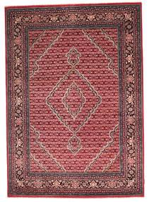 Gabbeh Loribaft Tapis 173X244 Moderne Fait Main Rouge Foncé/Rose Clair (Laine, Inde)