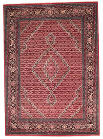 Gabbeh Loribaft Rug 173X244 Authentic  Modern Handknotted Dark Red/Light Pink (Wool, India)