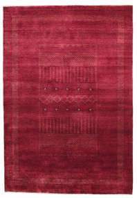 Gabbeh Loribaft Matta 151X222 Äkta Modern Handknuten Mörkröd/Röd (Ull, Indien)