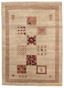 Gabbeh Loribaft Tapete 153X213 Moderno Feito A Mão Castanho Claro/Bege Escuro (Lã, Índia)