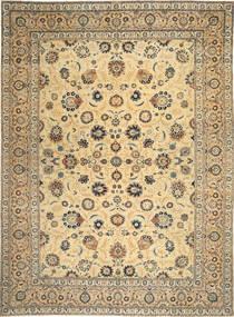 Keshan Patina Alfombra 317X433 Oriental Hecha A Mano Marrón Claro/Gris Oscuro Grande (Lana, Persia/Irán)