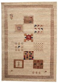 Gabbeh Loribaft Tapete 150X217 Moderno Feito A Mão Castanho Claro/Bege Escuro (Lã, Índia)