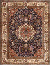 Tabriz Patina Teppe 252X328 Ekte Orientalsk Håndknyttet Lysbrun/Mørk Rød Stort (Ull, Persia/Iran)
