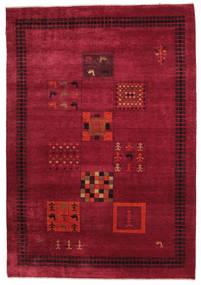 Gabbeh Loribaft Teppe 151X220 Ekte Moderne Håndknyttet Rød/Mørk Rød (Ull, India)