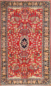 Najafabad Patina Pictorial Rug 188X320 Authentic  Oriental Handknotted Rust Red/Brown (Wool, Persia/Iran)