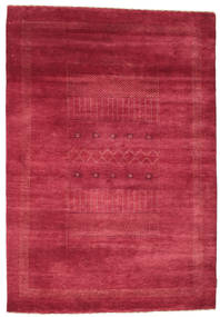 Gabbeh Loribaft Rug 150X219 Authentic  Modern Handknotted Crimson Red/Rust Red (Wool, India)