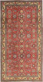 Tabriz Patina Tæppe 168X318 Ægte Orientalsk Håndknyttet Lysebrun/Mørkerød (Uld, Persien/Iran)
