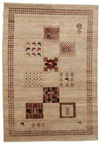 Gabbeh Loribaft Tapete 152X219 Moderno Feito A Mão Castanho Claro/Castanho (Lã, Índia)