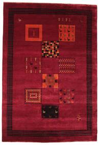 Gabbeh Loribaft Szőnyeg 193X286 Modern Csomózású Sötétpiros/Piros (Gyapjú, India)