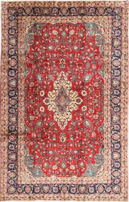 Hamadan Shahrbaf Tapis 222X344 D'orient Fait Main Rouge Foncé/Gris Foncé (Laine, Perse/Iran)