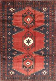 Klardasht Teppich  204X296 Echter Orientalischer Handgeknüpfter Rost/Rot/Dunkelrot (Wolle, Persien/Iran)