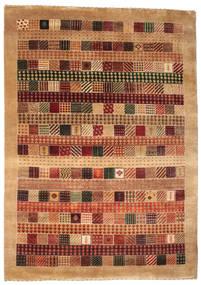 Gabbeh Loribaft Tappeto 151X214 Moderno Fatto A Mano Rosso Scuro/Marrone Chiaro (Lana, India)