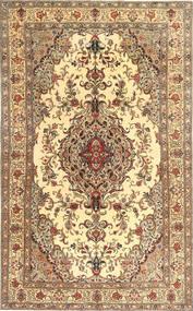 Tabriz Patina Teppe 205X327 Ekte Orientalsk Håndknyttet Brun/Lysbrun (Ull, Persia/Iran)