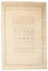 Gabbeh Loribaft Matto 146X220 Moderni Käsinsolmittu Beige/Keltainen (Villa, Intia)