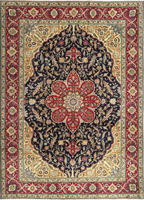 Tabriz Patina Rug 250X348 Authentic  Oriental Handknotted Brown/Dark Brown Large (Wool, Persia/Iran)
