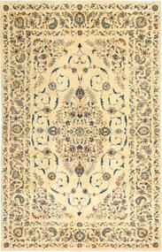 ナジャファバード パティナ 絨毯 223X355 オリエンタル 手織り 暗めのベージュ色の/黄色 (ウール, ペルシャ/イラン)