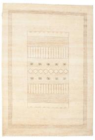 Gabbeh Loribaft Matto 150X218 Moderni Käsinsolmittu Beige/Keltainen (Villa, Intia)