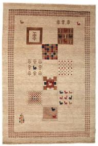 Gabbeh Loribaft Tapete 148X222 Moderno Feito A Mão Castanho Claro/Bege Escuro (Lã, Índia)