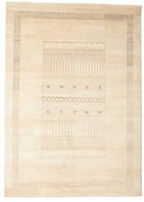 Gabbeh Loribaft Matta 196X278 Äkta Modern Handknuten Beige (Ull, Indien)