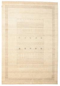 Gabbeh Loribaft Matto 195X286 Moderni Käsinsolmittu Beige/Keltainen (Villa, Intia)