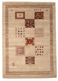 Gabbeh Loribaft Rug 198X282 Authentic  Modern Handknotted Light Brown/Beige (Wool, India)
