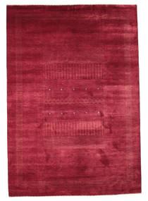 Gabbeh Loribaft Rug 196X282 Authentic  Modern Handknotted Crimson Red/Dark Red (Wool, India)