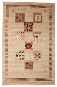 Gabbeh Loribaft Tapete 149X234 Moderno Feito A Mão Castanho Claro/Bege Escuro (Lã, Índia)