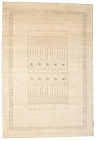 Gabbeh Loribaft Matto 152X223 Moderni Käsinsolmittu Beige (Villa, Intia)